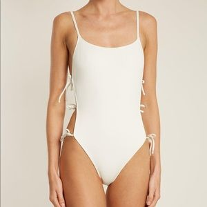 Solid & Striped Lily One Piece Swimsuit L NEW $168